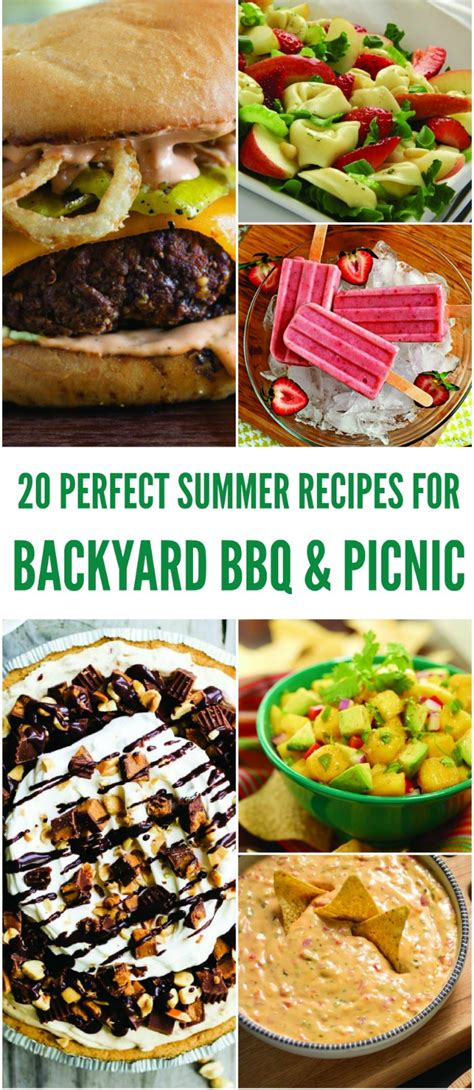backyard bbq recipes 20 easy picnic recipes for summer bbqs the jenny evolution