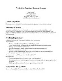 Photo Producer Sle Resume by Event Planning Assistant Resume Sales Assistant Lewesmr