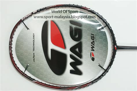 wagi ast 8 raket badminton silver world of sport wagi badminton
