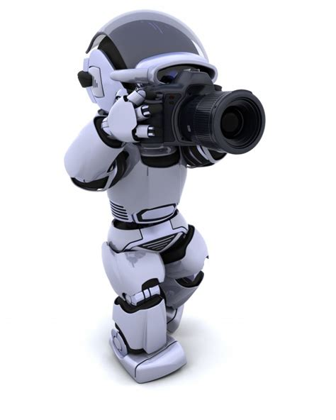 robot camara robot with digital slr photo free