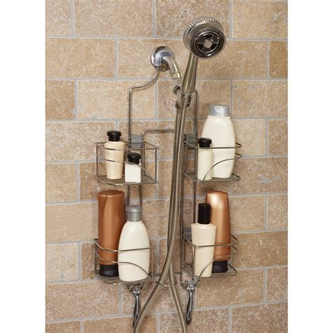 Bathroom Caddies Shower Zenith E7446ss Expandable Shower Caddy For Held Shower Shower And Bath Caddies At Hayneedle