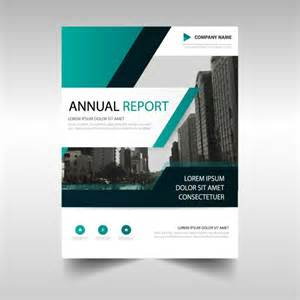 free report templates abstract annual report template vector free