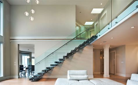 Interior Glass Railing by Picture Gallery Of Our Custom Glass Railings Interior