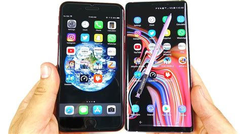 iphone    galaxy note  speed test youtube