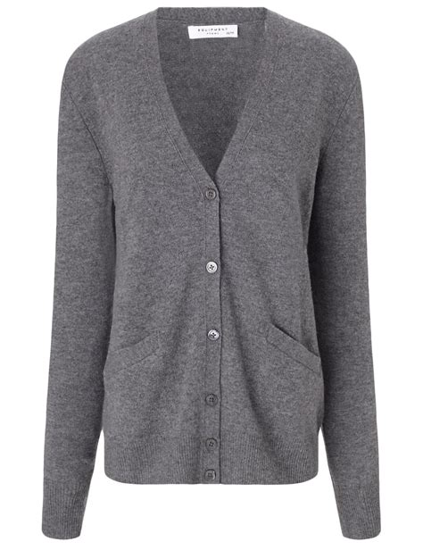 Cardigan Cardigan Grey equipment grey sullivan cardigan in gray