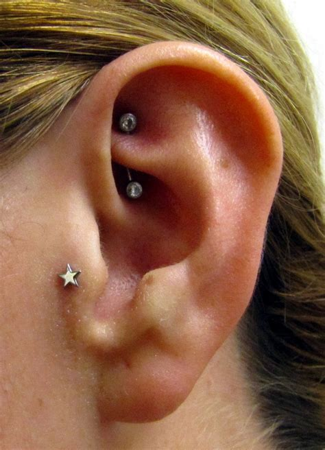 rook piercing care healing pain jewelry price