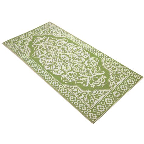 outdoor rug mats woven medallion outdoor patio rug mat by collections etc ebay