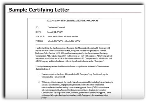 section 302 certification sle related keywords suggestions for sarbanes oxley 302