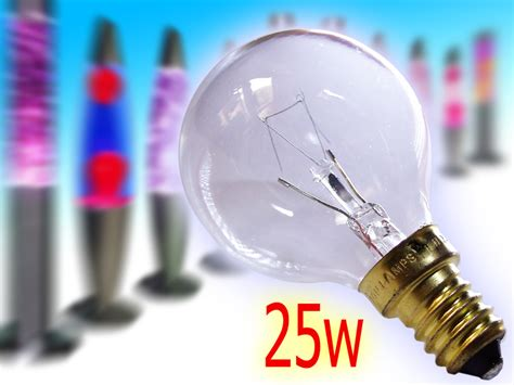Large Lava L Replacement Bulb by 2x Lava Glitter L Replacement Bulb Ses E14 Golf 25w