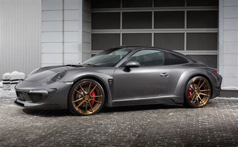 widebody porsche 911 topcar develops carbon fibre wide body kit for 991 porsche