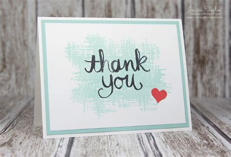 thank you card inspired by ink it up with card ideas sting