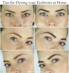 how to color eyebrows how to dye your eyebrows at home sue