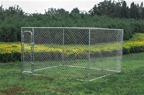 10x20 kennel aleko chain link kennel 10 x 10 x 6 for chicken coop hens house