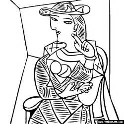 Max Ernst L Ange Du Foyer Famous Paintings Coloring Pages Page 5