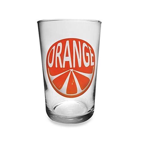 orange juice before bed luminarc 174 conique orange juice glasses set of 6 bed bath beyond