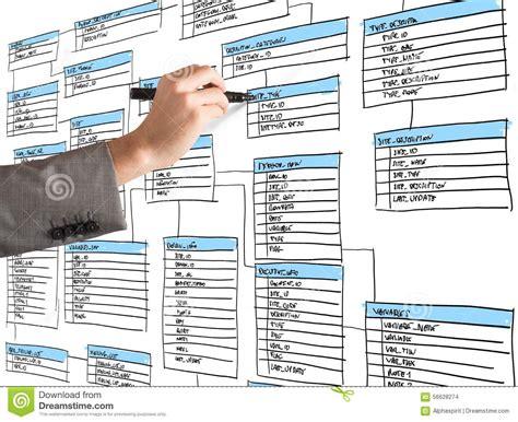 organize a database stock photo image 56628274