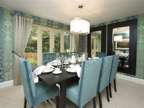 Show Home Dining Room 6 bedroom detached house for sale in the glade guisley