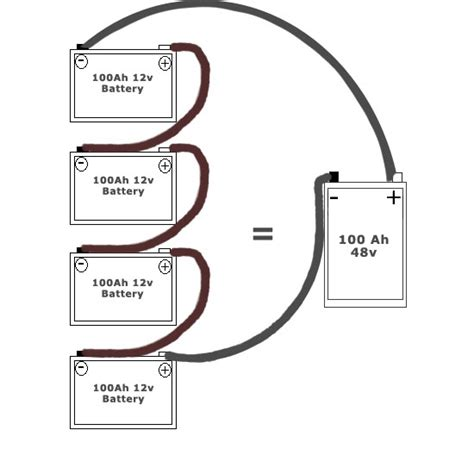 series parallel wiring diagram get free image about