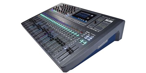 Mixer Audio Sound System si impact soundcraft professional audio mixers