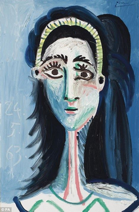 unseen picasso paintings found in garage unseen picasso masterpiece fetches 163 8 1m at christie s