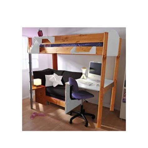 chair desk combo uk stompa combo highsleeper bed in white with