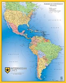 usa and south america map gabelli us inc v3 2013