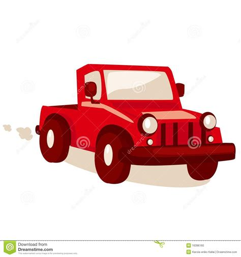 cartoon jeep cartoon jeep stock vector illustration of jeep childlike