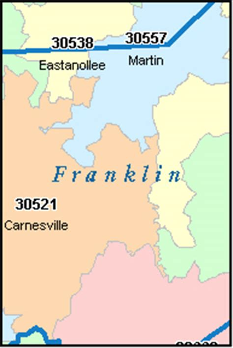 franklin county section 8 franklin county georgia digital zip code map