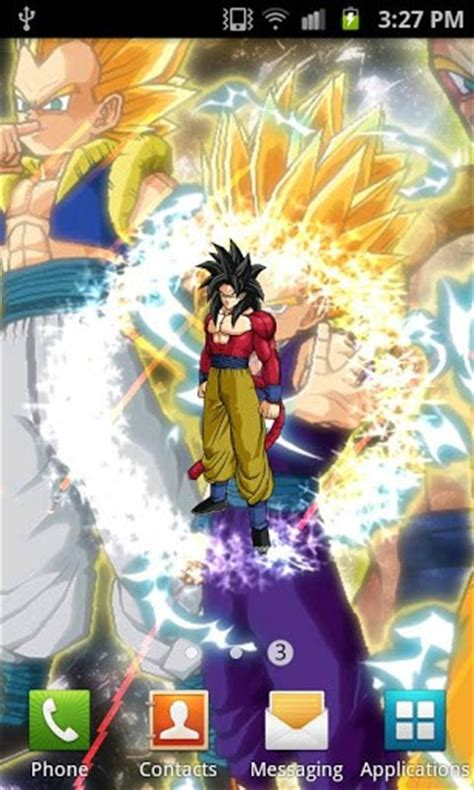 download dbz themes for android download dragon ball z live wallpaper for android by dark