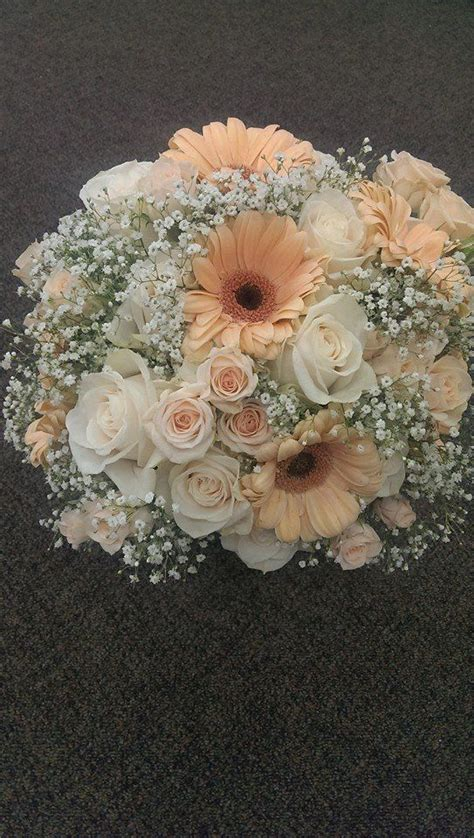Wedding Bouquets Using Gerberas by Vintage Bridal Bouquet Created By At Woodland Floral