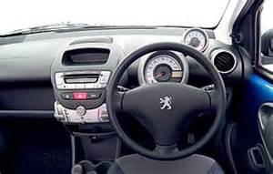 Peugeot 107 Inside Car Reviews Peugeot 107 5 Door The Aa