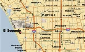 el segundo california map el segundo real estate