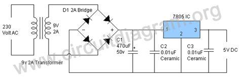 5v 12v power supply circuit diagram 5v power supply circuit circuit diagram