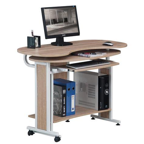 scrivania pieghevole scrivania porta pc pieghevole quercia bianco effetto legno