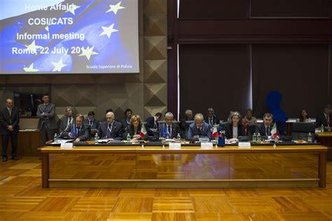 ministri dell interno presidenza italiana ue riunione sicurezza cittadini