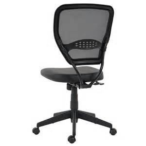 chaise de bureau chaise de bureau naxos en simili cuir