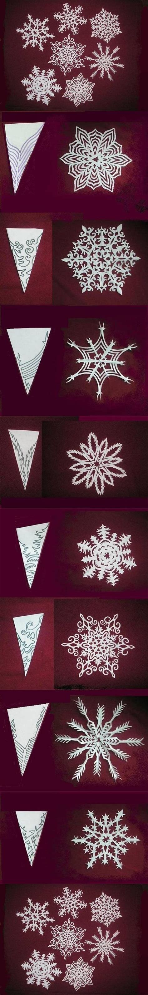 paper snowflake pattern instructions diy snowflakes paper pattern might try to attempt one