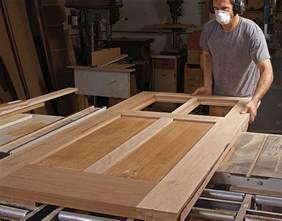 building an exterior door how to build your own front door finewoodworking