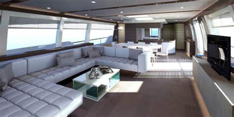 interno yacht ferretti 960 yachts report