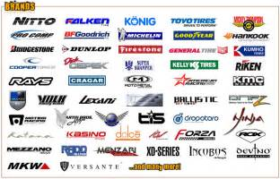 Auto Tire Brand Names Tires And Wheels K J Rims And Tires