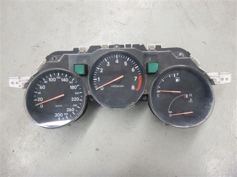 Speedometerkilometer Supra Fit toyota supra jza80 mkiv 2jzgte speedo instrument cluster 300km h j050 ebay