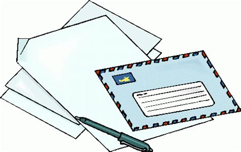 Business Letter Clipart Letter Writing Clipart Clipart Best