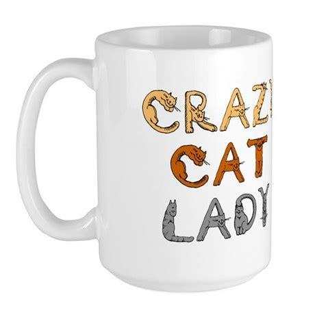 crazy mugs crazy cat lady mug by themonkeysuncle
