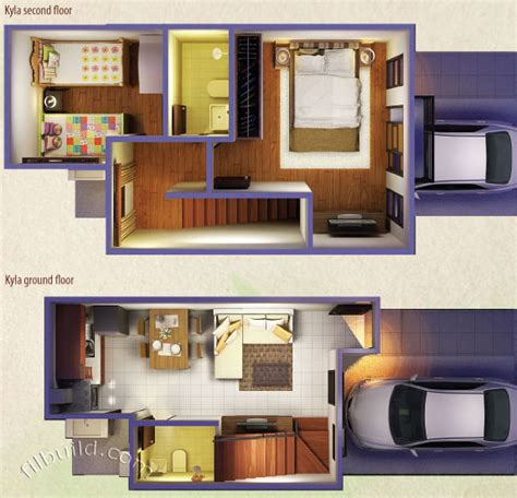 1 Storey Floor Plan minglanilla cebu real estate home lot for sale at zen