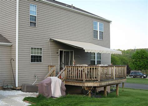 roll out awnings for decks living our dream ohio passport america