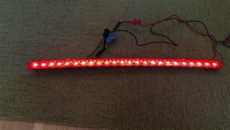 led third brake light resistor third brake light led conversion weirdness rennlist