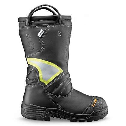 firefighting bunker boots globe s supreme 14 quot structural boot pull on nfpa