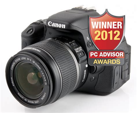 best digital 2012 canon wins pc advisor s best digital of 2012 award