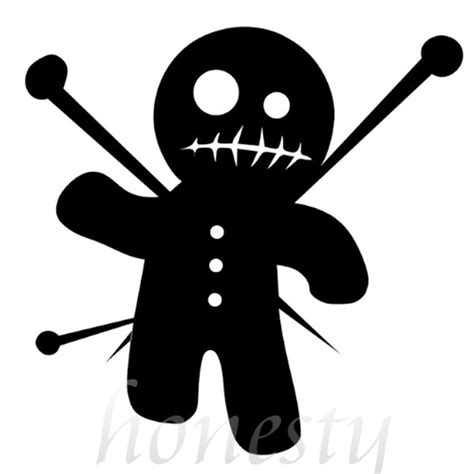 voodoo doll clipart voodoo clipart black and white pencil and in color