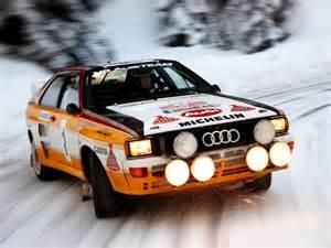 Rallye Audi Snow Rally Audi Quattro Speed Rally Car Wallpaper